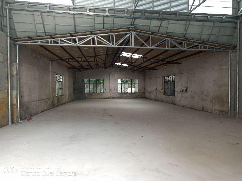 黄江镇星光村500m²仓库出租,靠近大路,交通方便