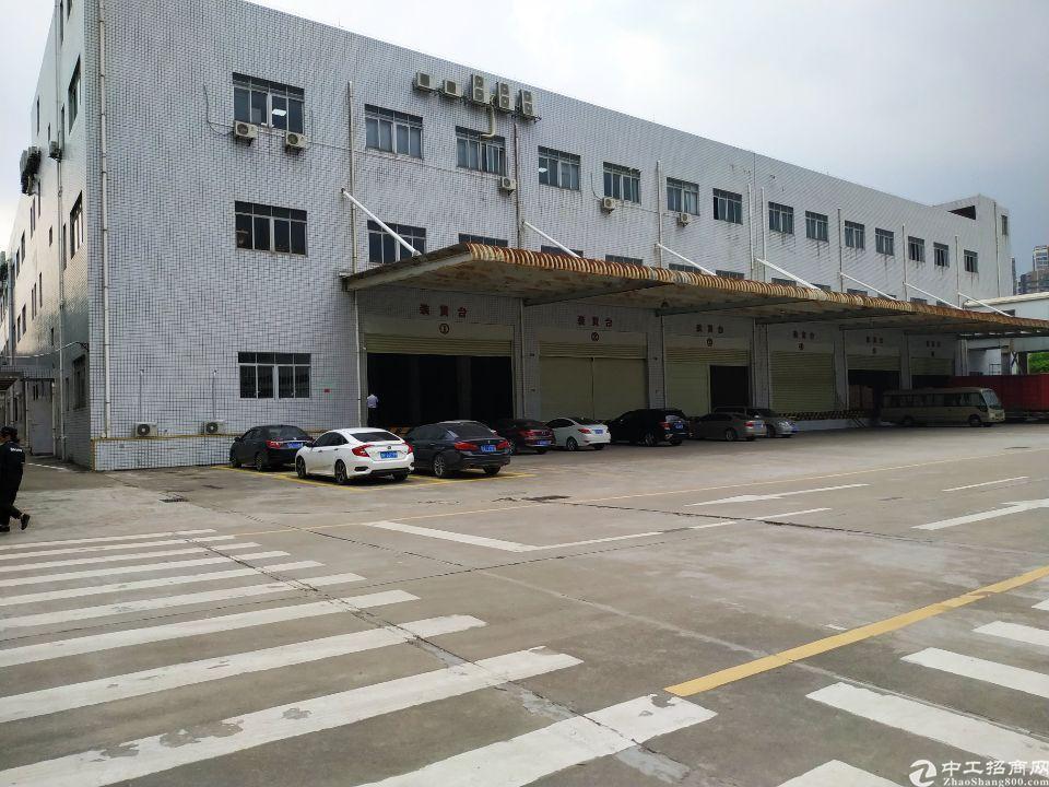 塘厦林村高速出口3500平物流仓库带卸货台