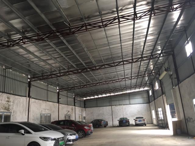 长安沙头新出一楼300平米钢构厂房