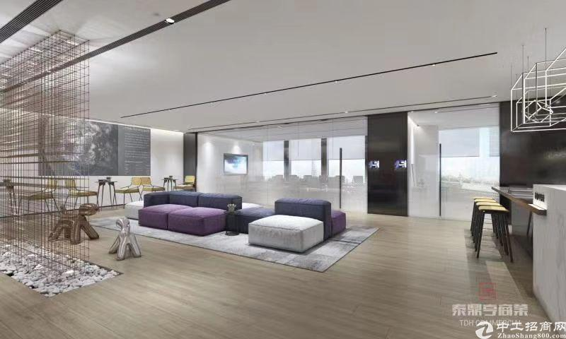 珠城保利中心办公室带精装修出租,大气前台,带家私