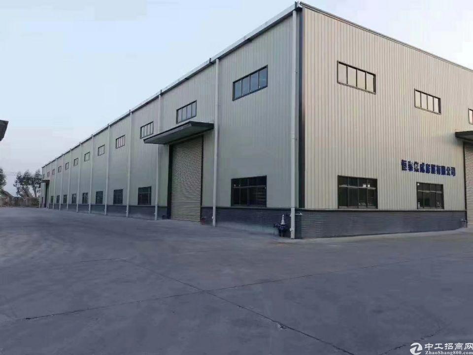 增城新塘镇独院钢结构厂房1800平方,滴水9米,可办环评厂房