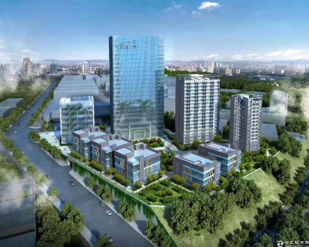 布吉李朗原房东红本独栋研发楼2100平可做企业总部
