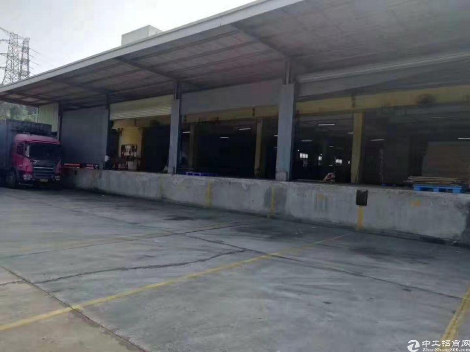 带卸货平台物流仓库9.5米高45000平方(可分租)