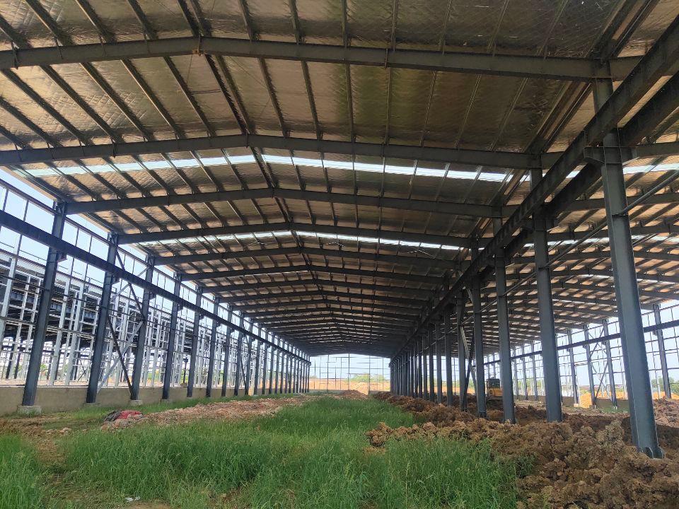 武汉钢结构厂房出售,适合机械制造业