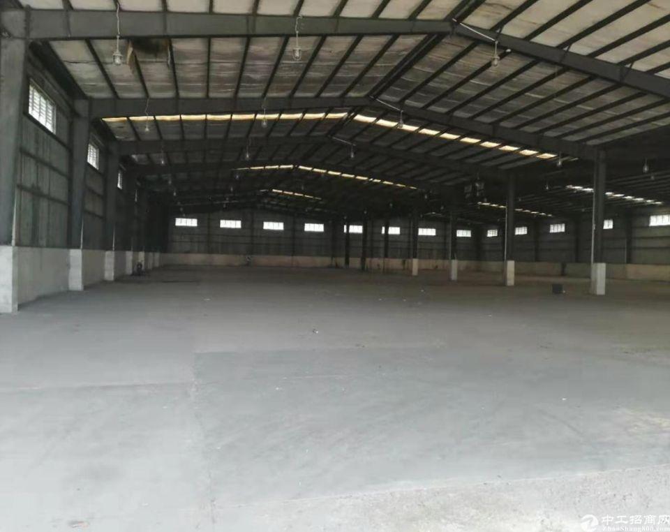 独院钢构单一层物流仓库10000平出租空地4000平方