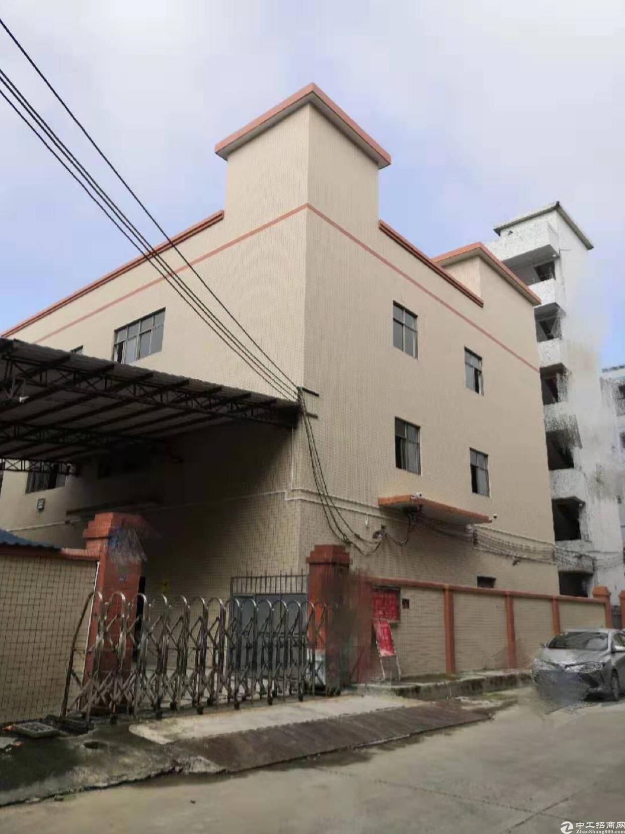 双证横沥国有双证厂房出售,占地2800平,建筑350