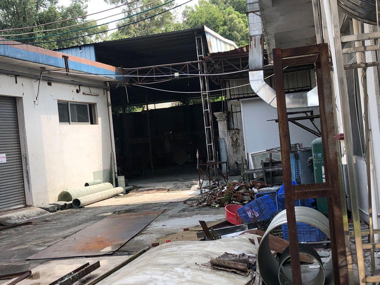 惠州市马安镇工业园区1楼铁皮