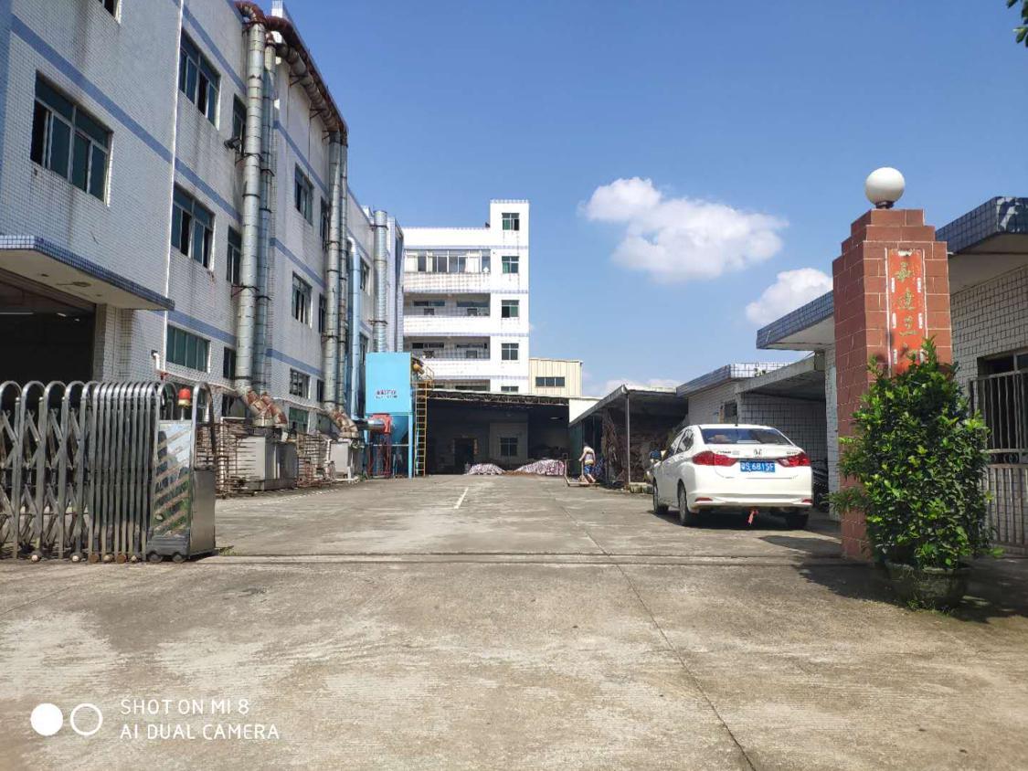 企石镇独门独院厂房出租空地5000方三层一楼高6米