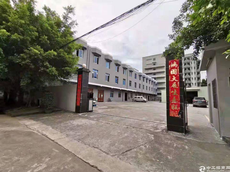 大岭山新出独院厂房,占地5000㎡建筑5300㎡低价急出售