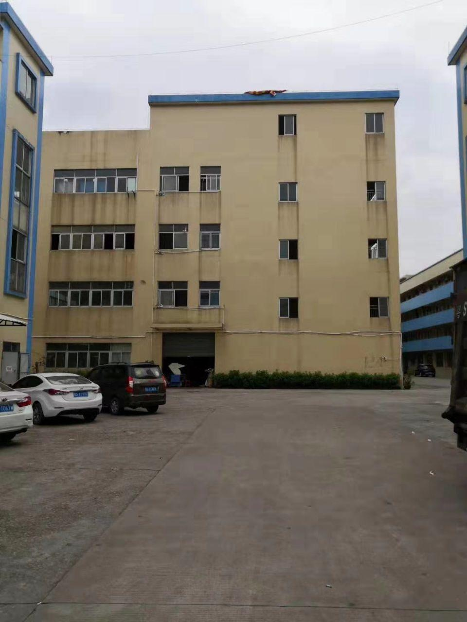 独栋标准厂房1-4层5120平,每层12