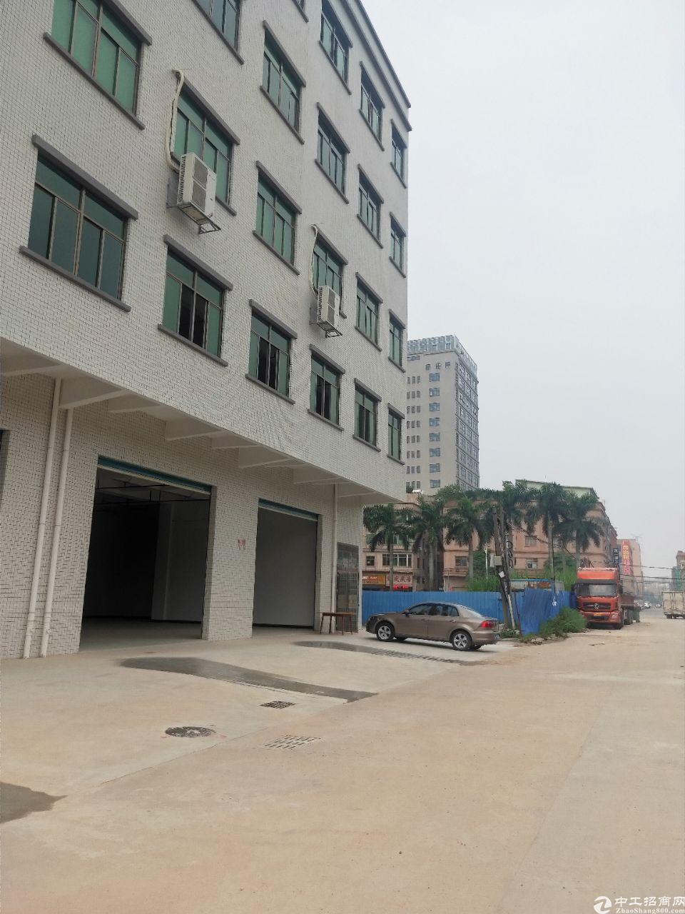 大朗新空出标准厂房一楼1500平方出租
