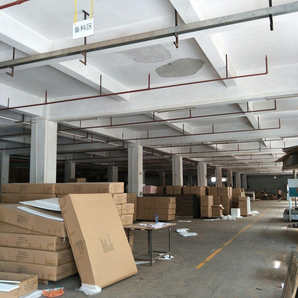 企石家具工厂分租一楼2000平方,高度6米带消防喷淋