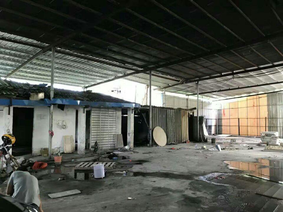 新圩7元每平原房东独院钢构厂房1000平