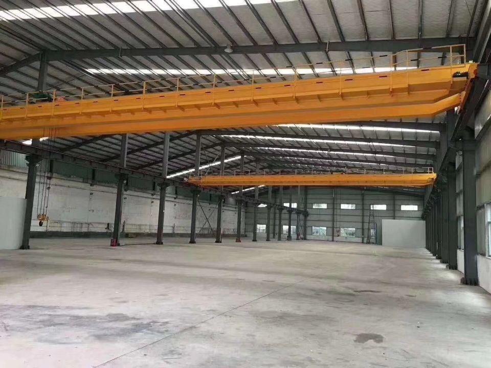 横沥镇原房东独院钢结构滴水10米带航车厂房出租