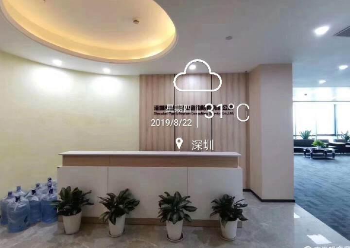 清湖甲级写字楼600平,带全套家私图片4