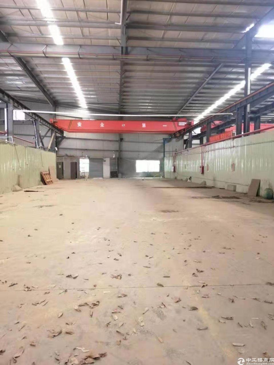 塘厦镇原房东4000平方钢结构独院厂房出租