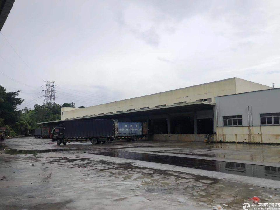 凤岗靠平湖30000平米10米高物流物流仓库出租标准卸货平台