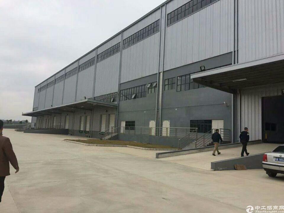 企石东部快线旁物流园钢构厂房出租3000平方