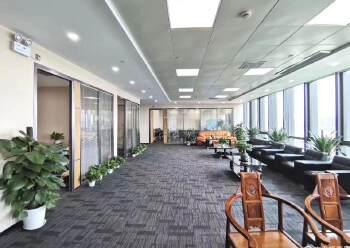 清湖甲级写字楼600平,带全套家私图片6