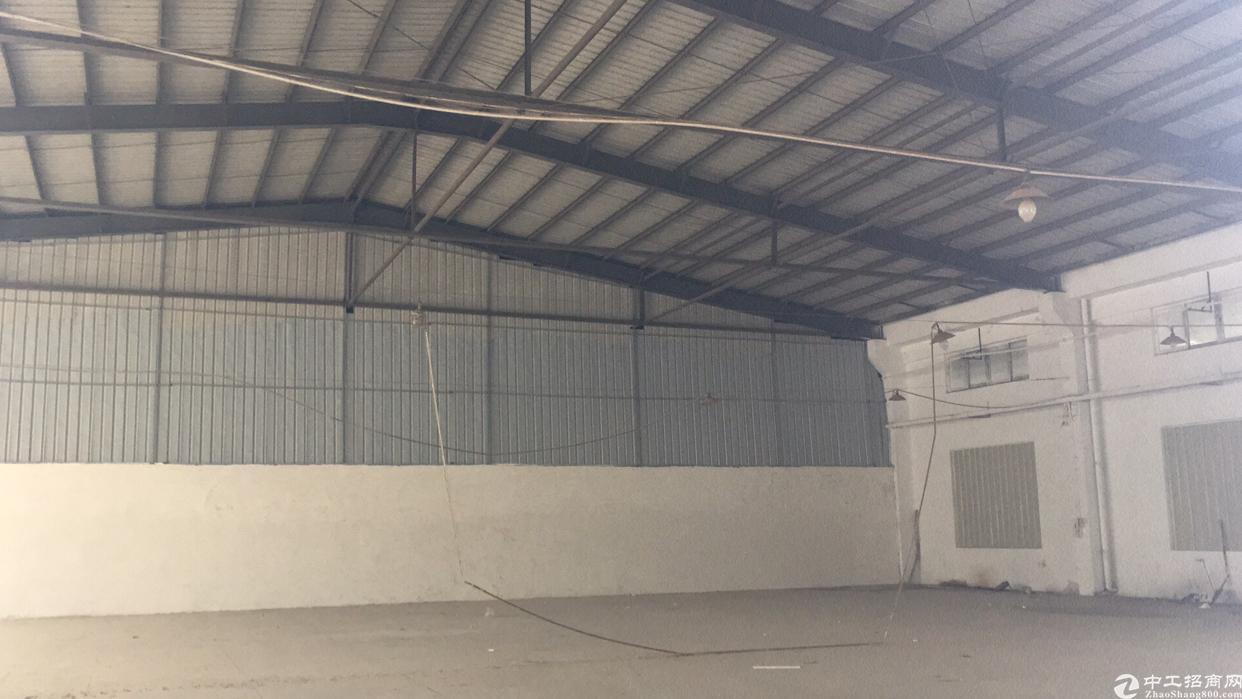 大朗镇新出2400平米钢构砖墙到顶可办环评大小可分租