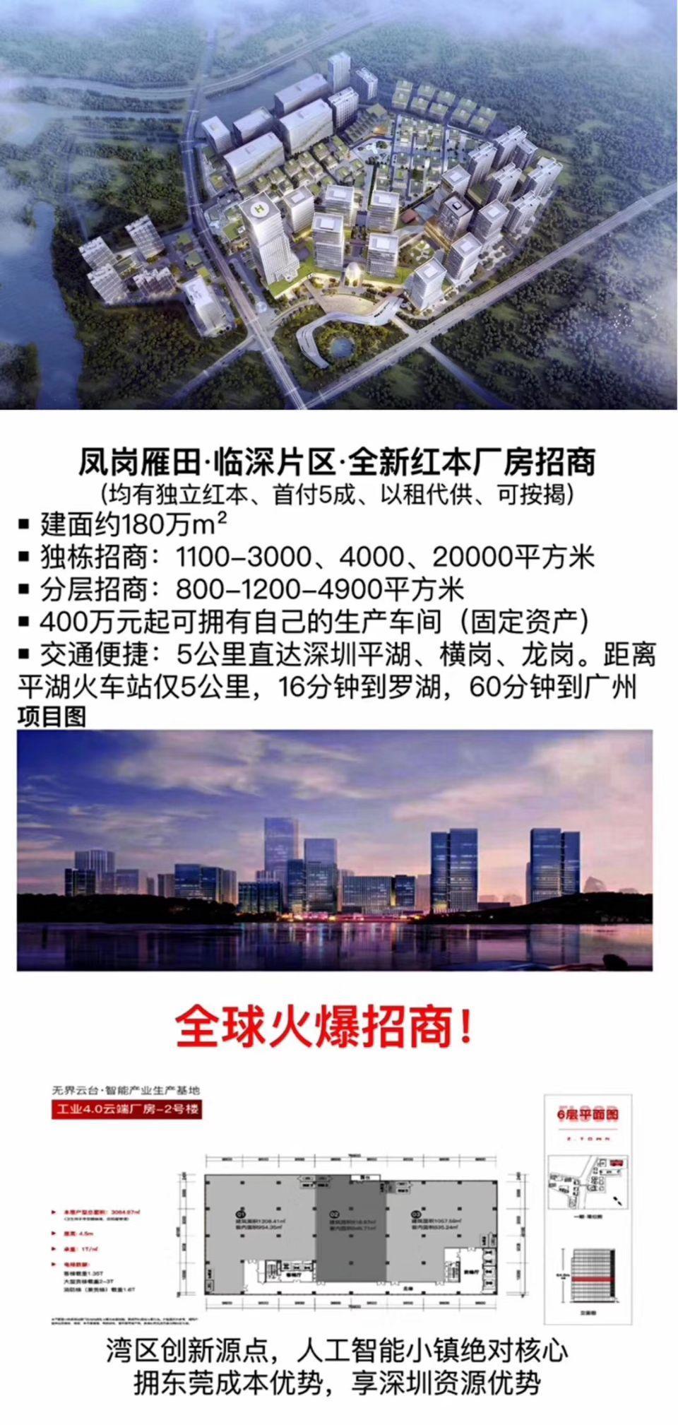 東莞高端產業園區,50年紅本產權,可按揭,自用及投資均合適