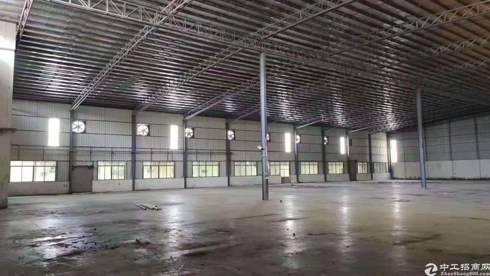 洪梅镇原房东独门独院新建钢构厂房22000平空地大证件齐全