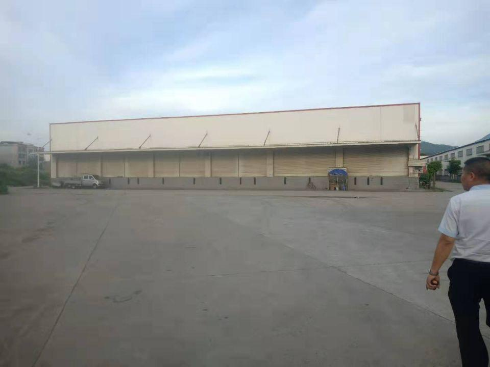 谢岗镇新出独栋钢构厂房,带卸货台,可做物流仓库
