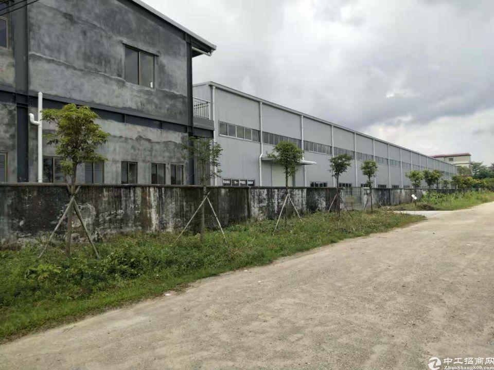 惠阳区平潭镇独院钢构厂房出租6500平方空地大交通好