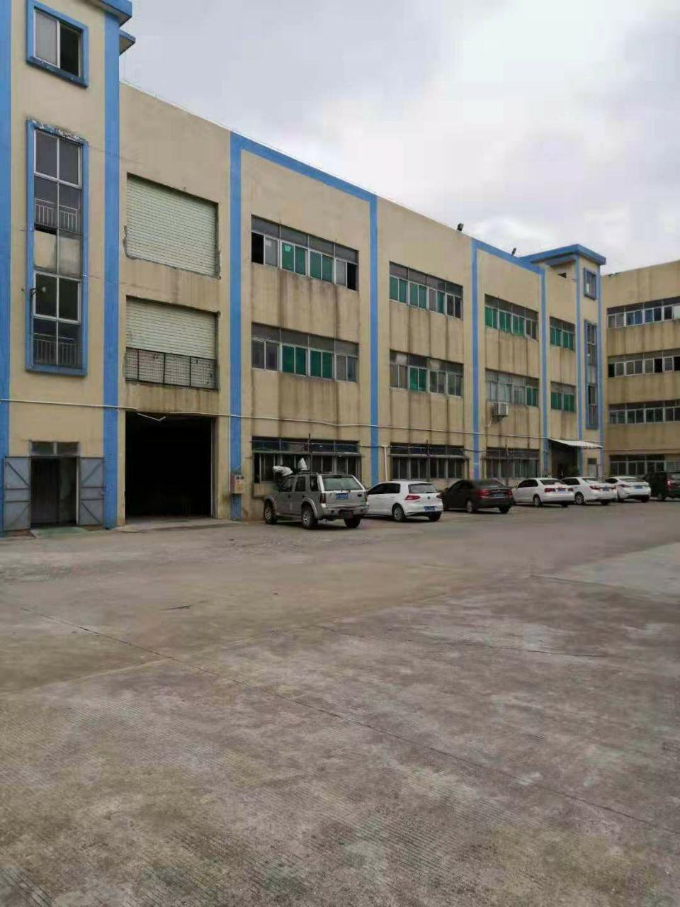 新出道滘镇厂房出租独栋标准厂房1-4层5120平