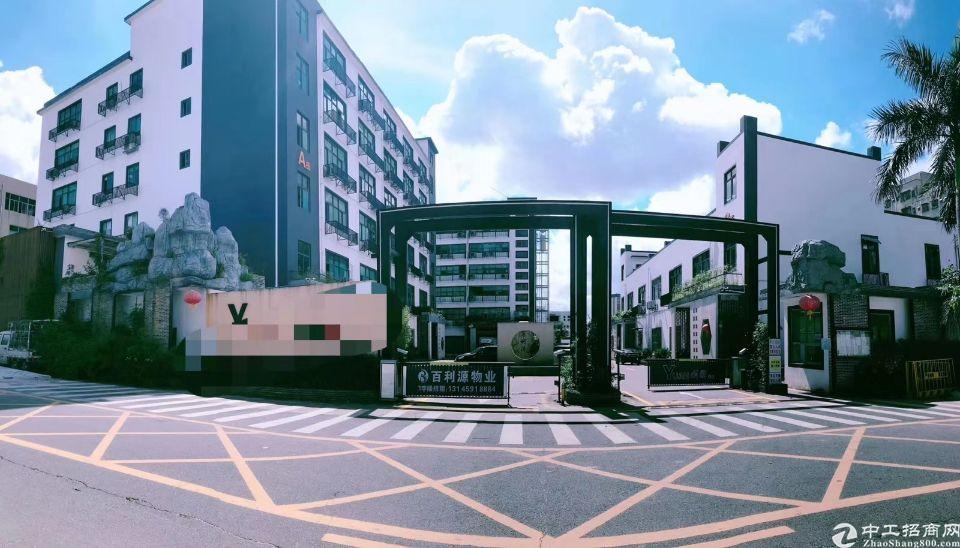 龙华油松科技园楼上,499平办公仓库招租