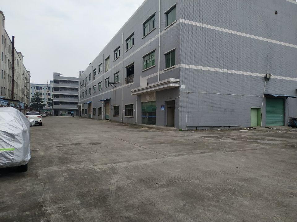 横沥镇三江工业区一手房东厂房招租,空地大
