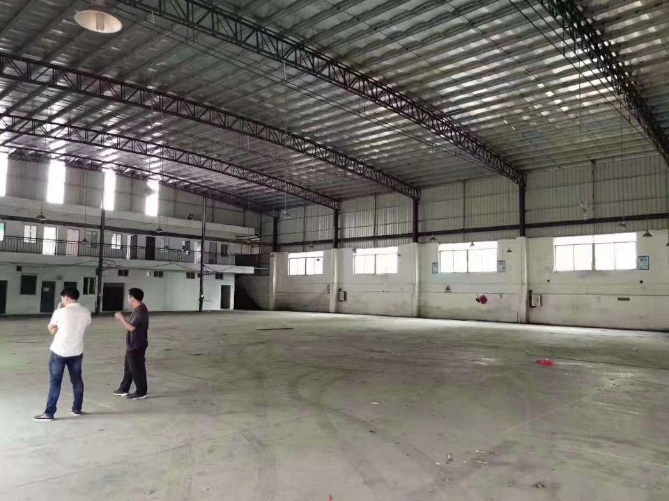 黄埔区新出小面积钢构700平,空地2300平,整租15块,