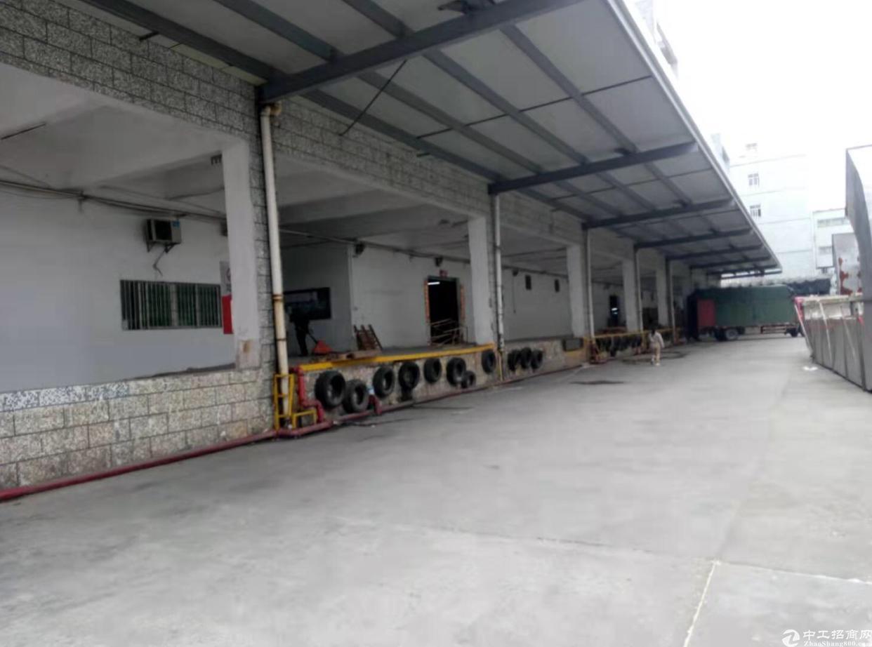 离盐田最近的物流仓库滴水8米卸货平台15000平