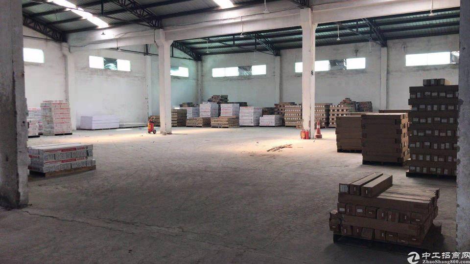 东莞市东城街道茶上工业区单一层仓库出租