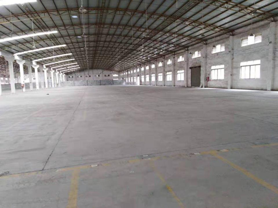 清溪三中物流仓库10000平方独院单一层实际面积出租带卸货平