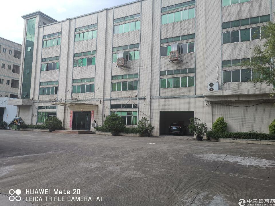 石湾镇原房东独院标厂房8600平方带塑胶环评