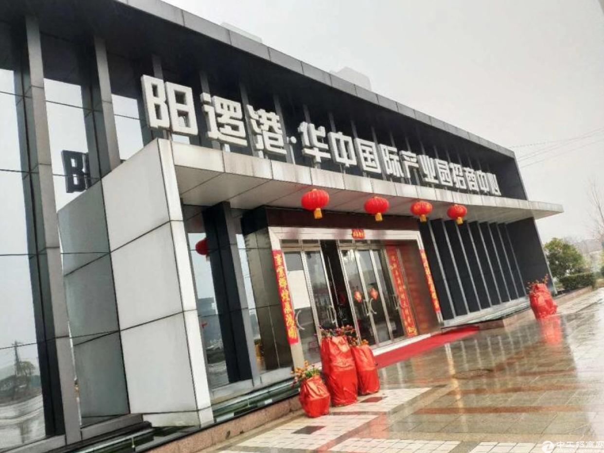 新洲阳逻港地铁口园区,厂房出售,可分割办证,800-2000