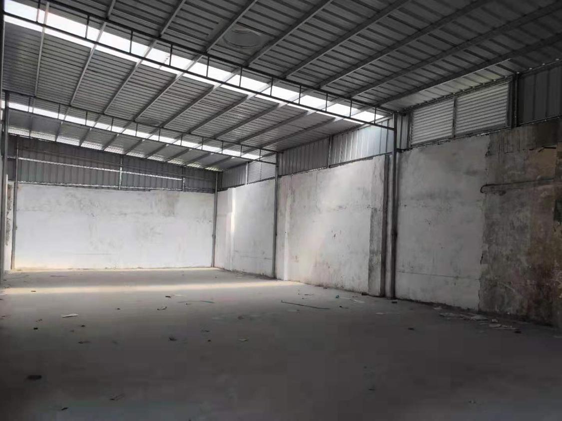 黄埔荔联时代城附近原房东出租1楼250平铁皮房低价打包