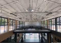广州黄埔大观路旁800平花园式精装修写字楼可分租,园区形象美