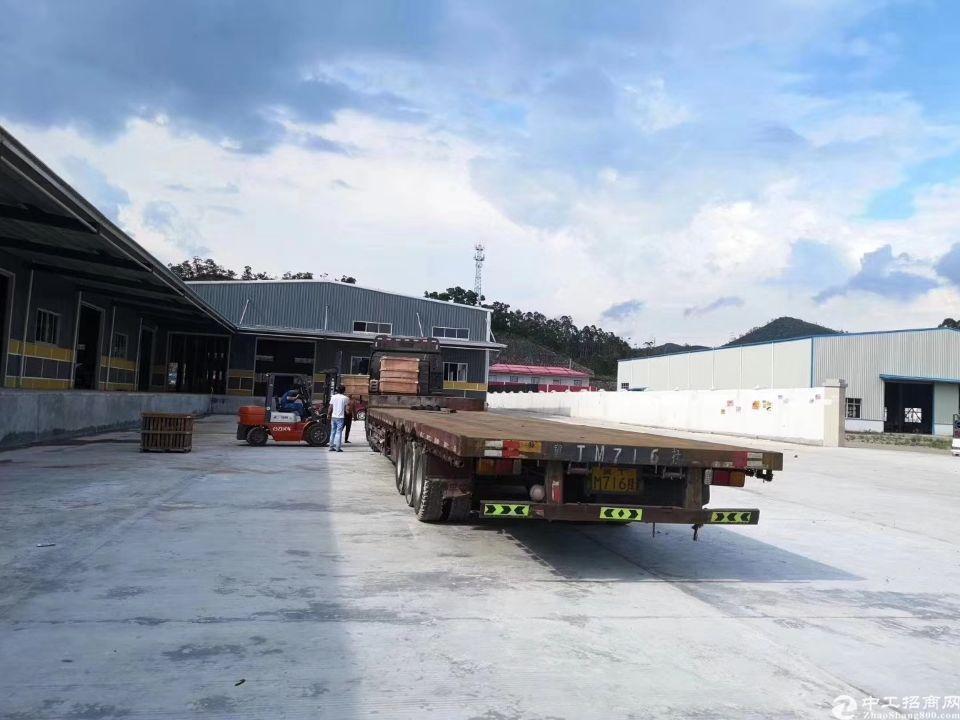 物流园位于高速路口1km,有二类消防卸货平台空大超大可租可麦
