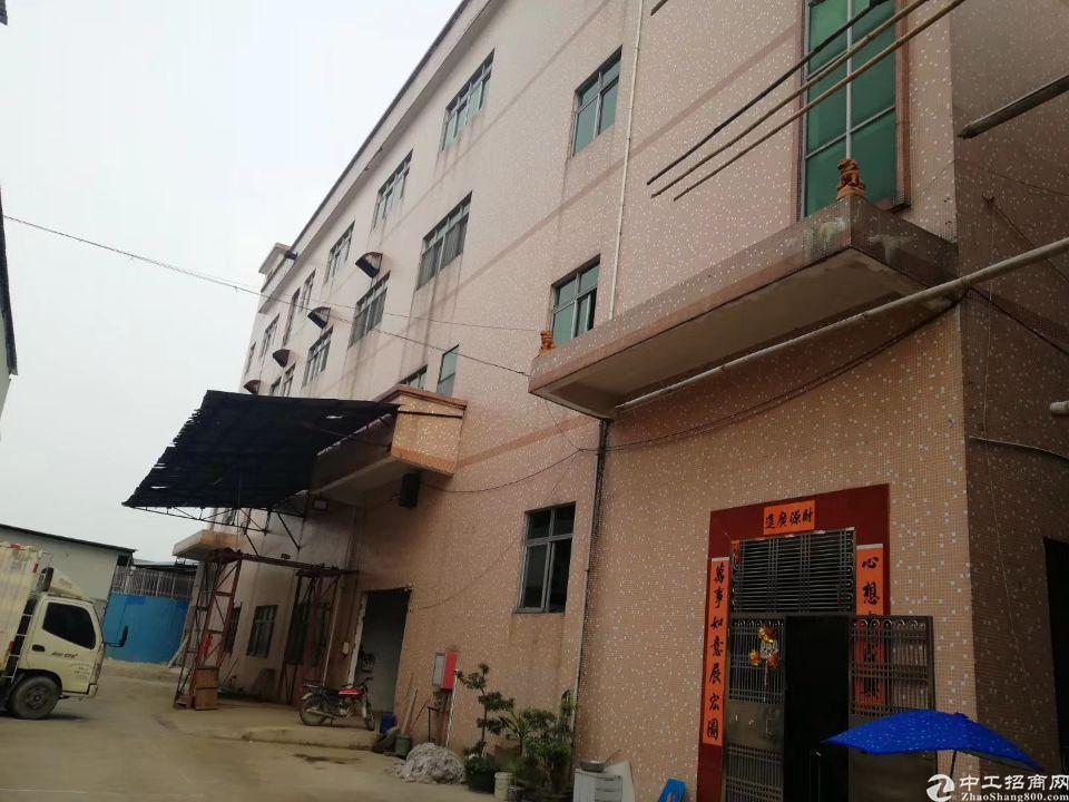 石碣原房东独院厂房1-4层3500㎡,2吨电梯。