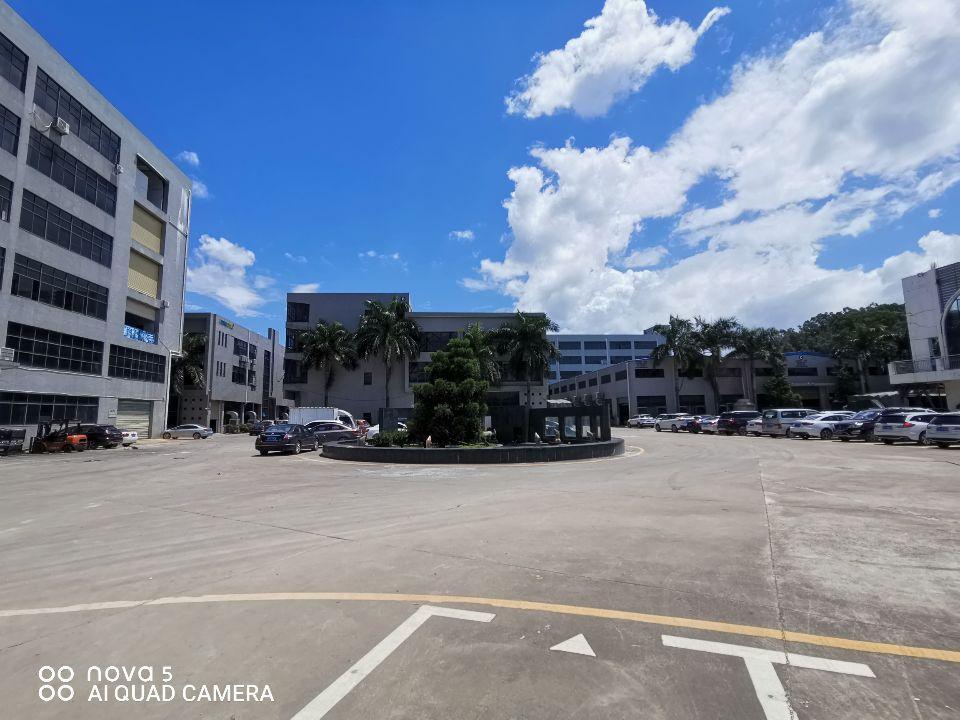 塘厦新出花园式厂房楼上2000平,车间主线到位玻璃办公室豪装