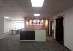 宝安区西乡物业直租225平带装修写字楼2+2隔间
