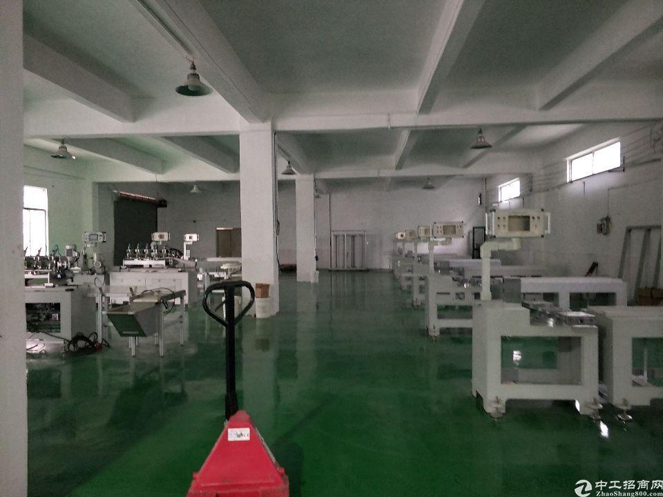 原房东厂房,1-5层约6000平米,单一层约4000平米,独