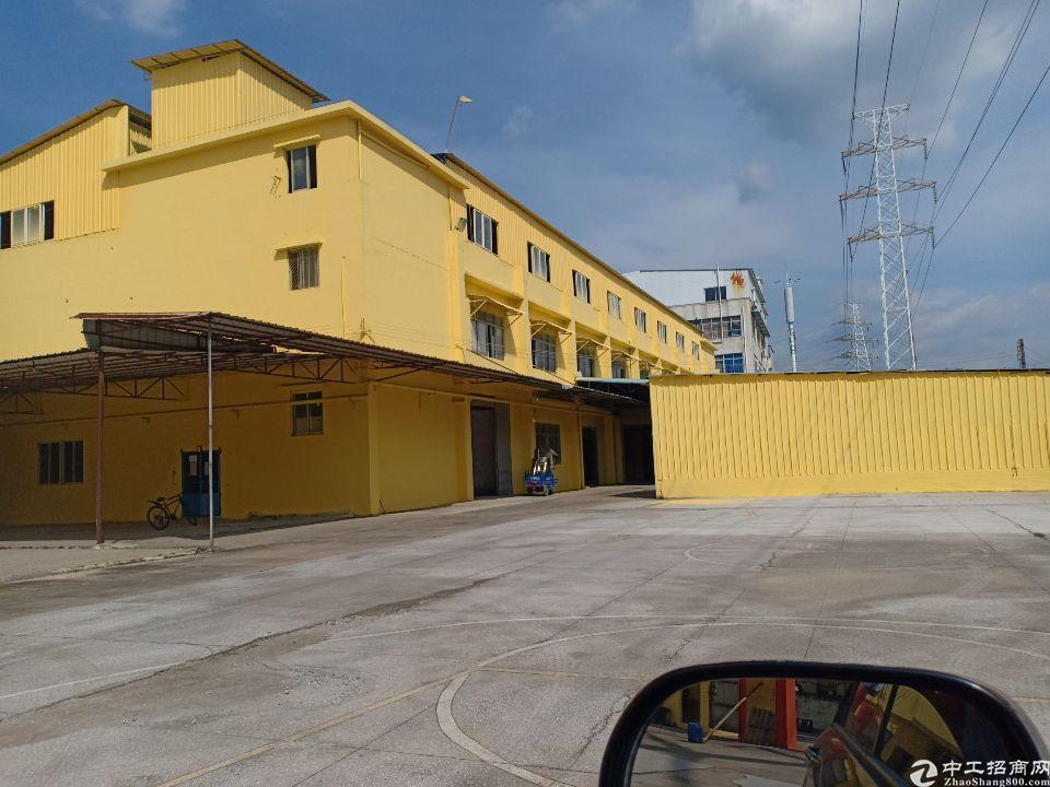 白云区龙归标准厂房招租。约5120平方大小可分租