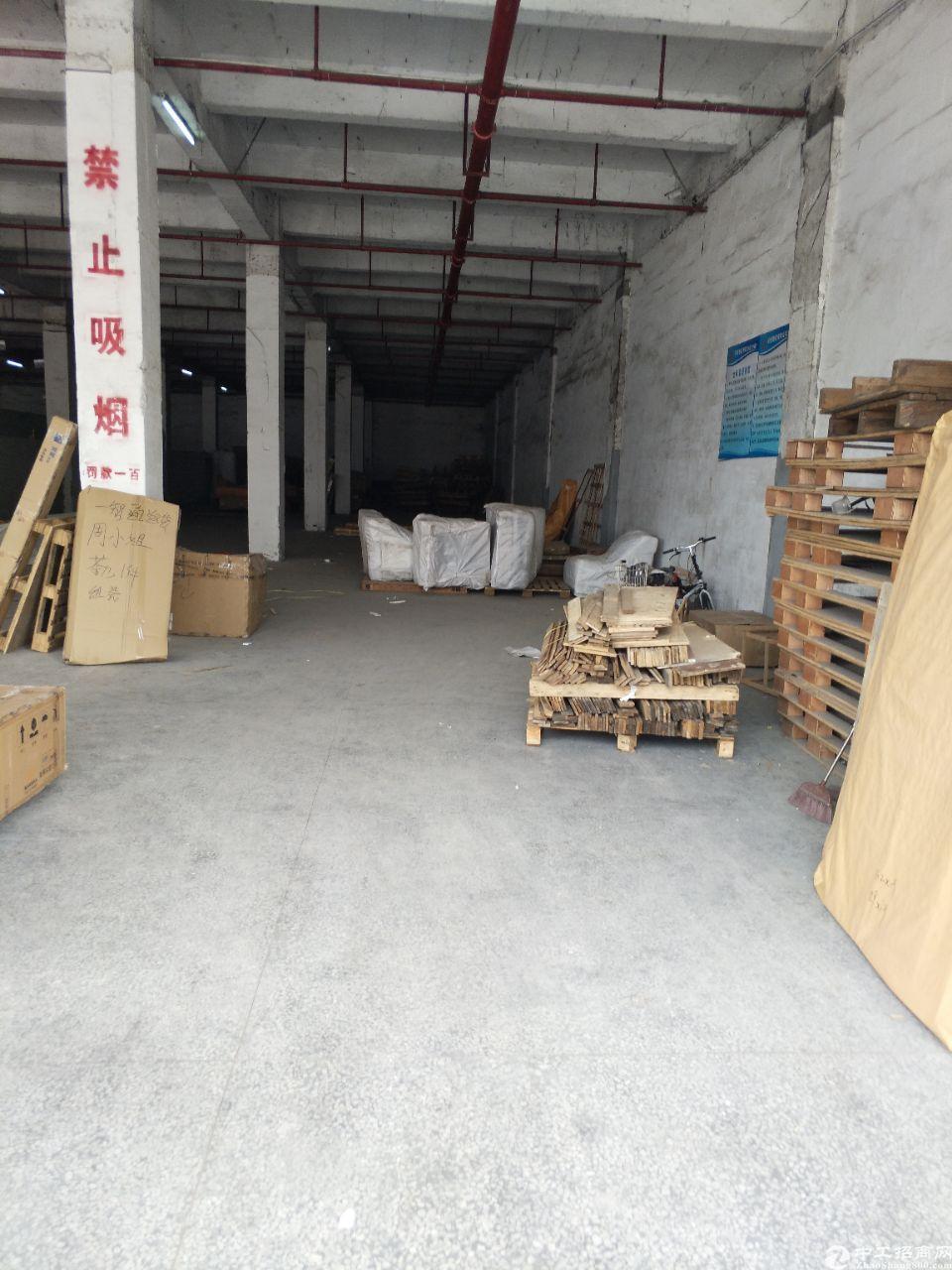 平湖国文物流园物流仓库一楼500平方高度五米