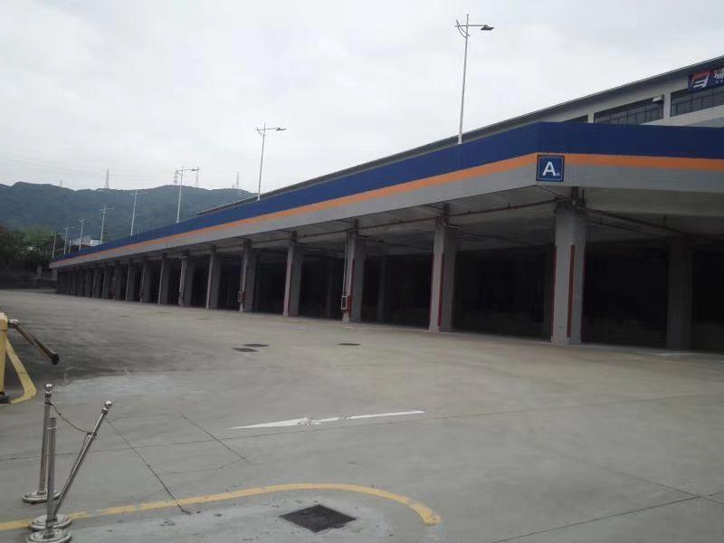 盐田港附近新出一楼1.2万平带卸货平台标准物流仓库,大小分租