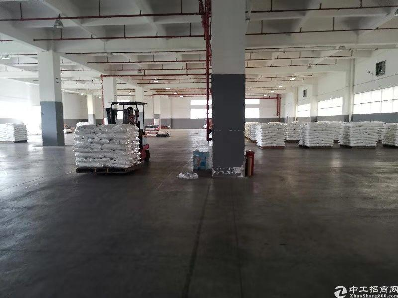 中山项目坡道仓,车可以开到二楼仓库,一共6.6万平方