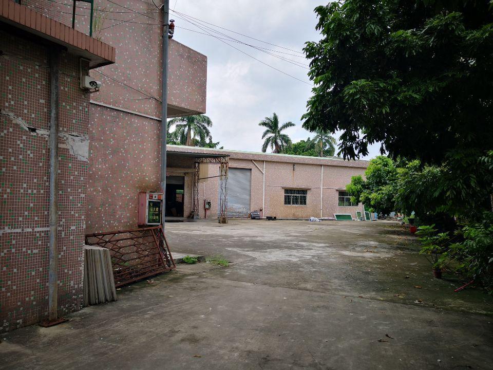 茶山镇即将空出独院厂房1358平方招租