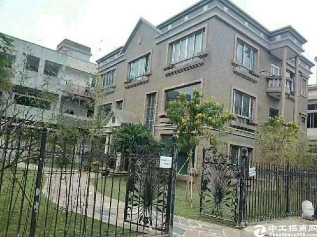 虎门358边靠长安独门独院花园式带豪华办公楼厂房招租